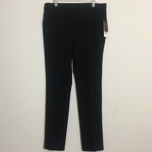 NWT Black Super Stretchy Pleated Dress Pants